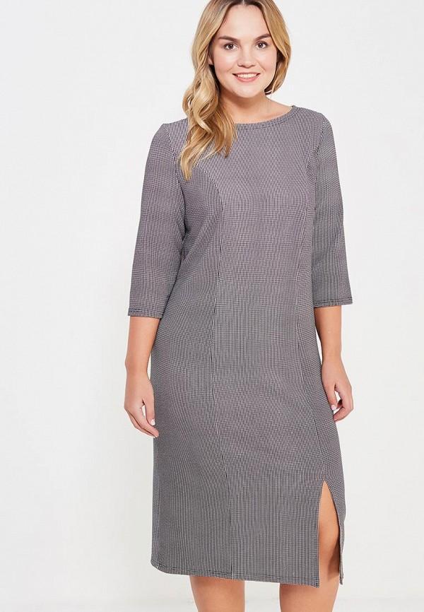 Фото - Платье Sparada серого цвета