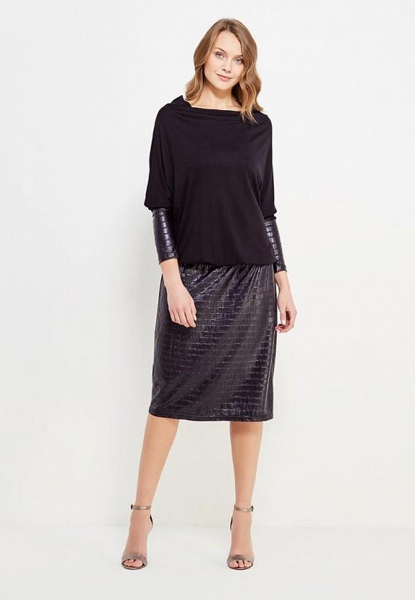 Фото 2 - женское платье Sparada черного цвета
