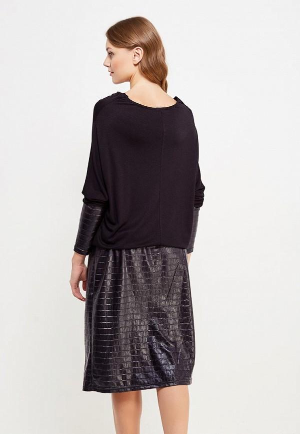 Фото 3 - женское платье Sparada черного цвета