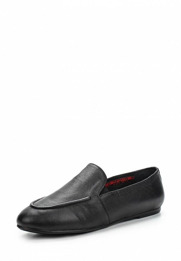 Туфли на плоской подошве Spur (Спур) SM3100_06_01_BLACK