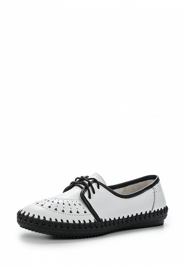 Туфли на плоской подошве Spur SM3063_03_24_WHITE