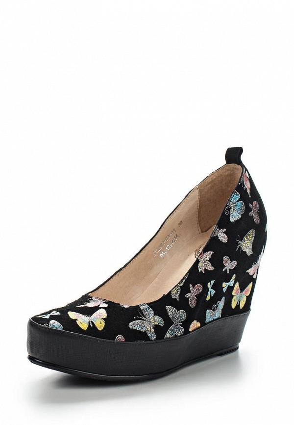 Туфли на платформе ламода