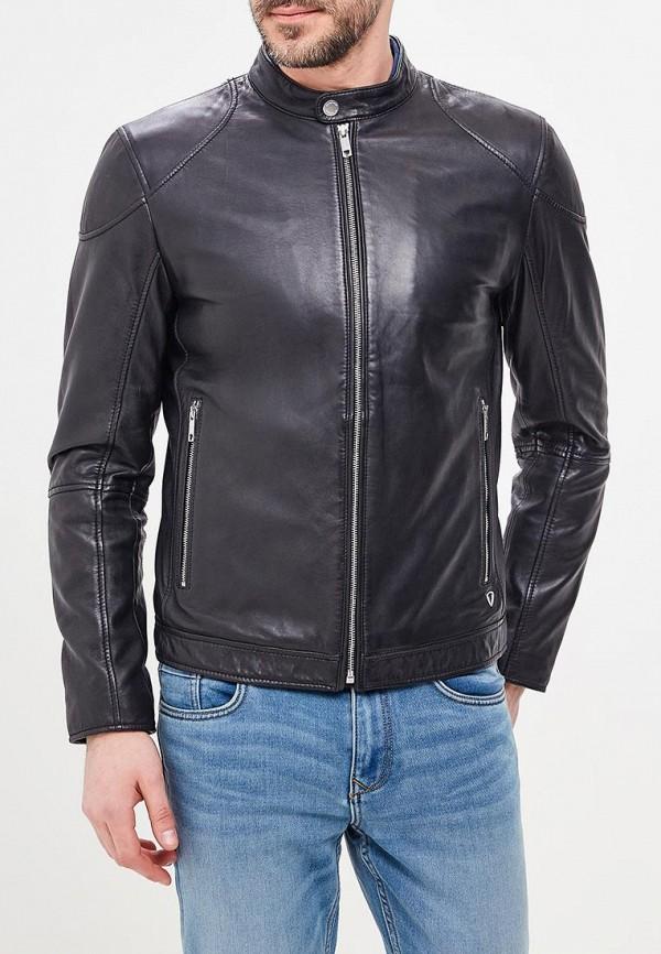 Куртка кожаная Strellson Strellson ST004EMAWXV9 куртка strellson черный