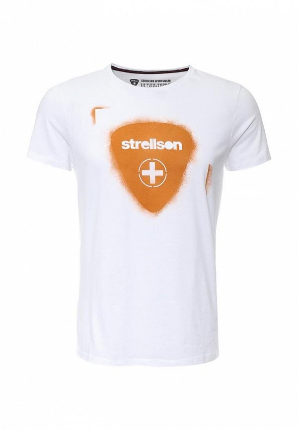 Футболка с надписями Strellson 30000749