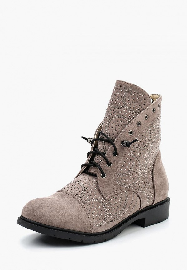 Фото - женские ботинки и полуботинки Stephan серого цвета