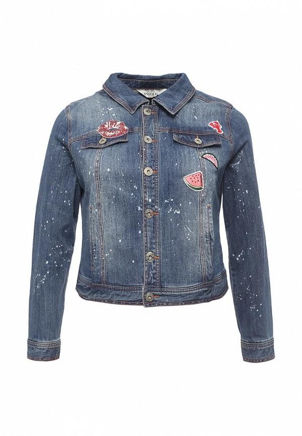 Куртка джинсовая Studio Untold Studio Untold ST038EWPRN37 кардиган женский oodji collection цвет бежевый меланж 73212383 1b 46139 3300m размер xl 50