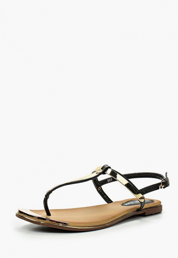 Фото 6 - женские сандали Style Shoes черного цвета