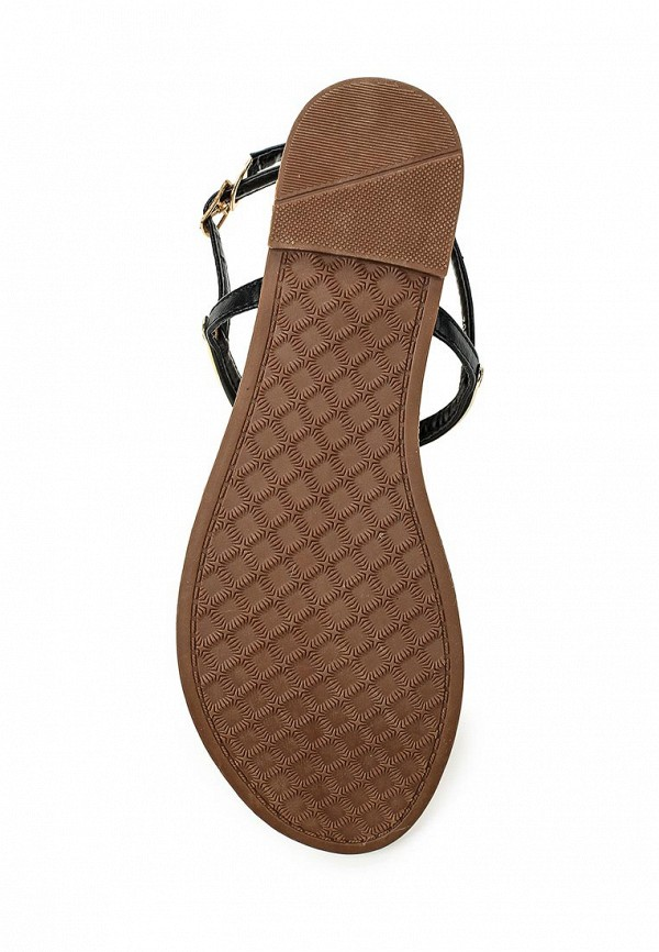 Фото 3 - женские сандали Style Shoes черного цвета