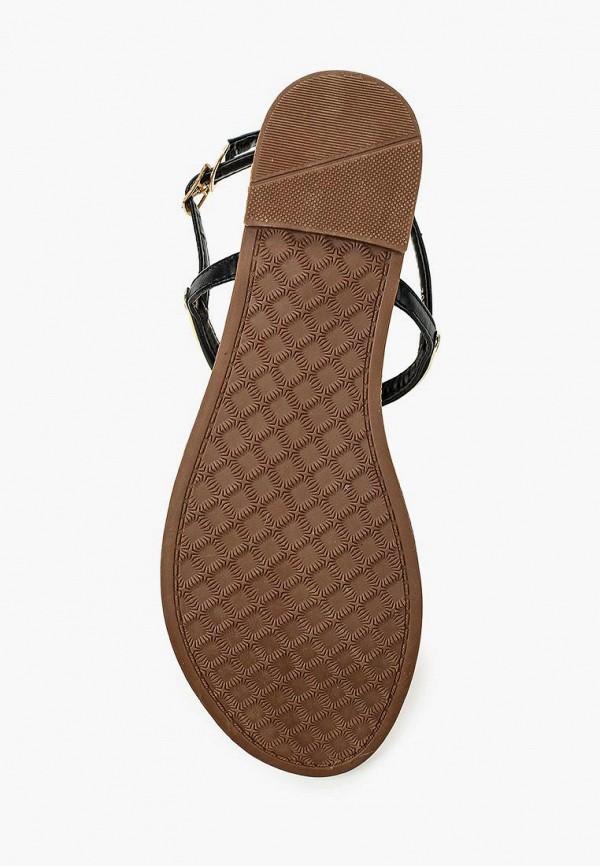 Фото 8 - женские сандали Style Shoes черного цвета