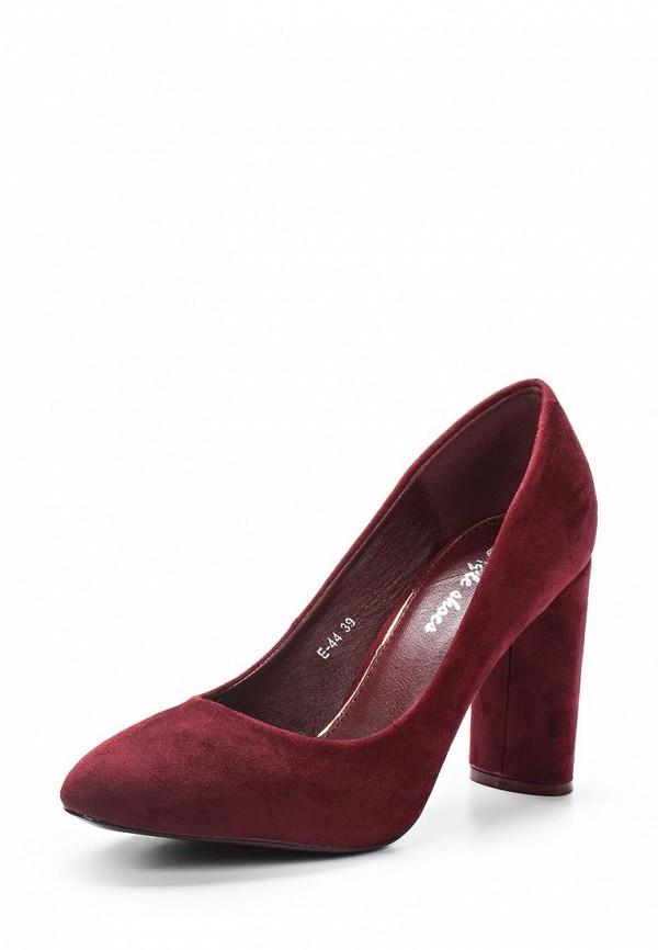 Купить Туфли Style Shoes, ST040AWYNK35, бордовый, Весна-лето 2018