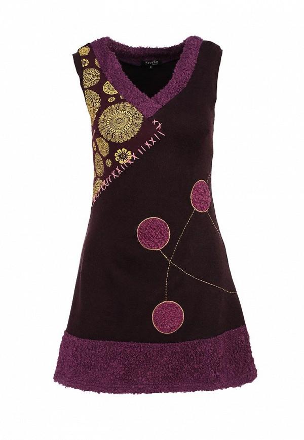 Вязаное платье Stella Morgan D115016