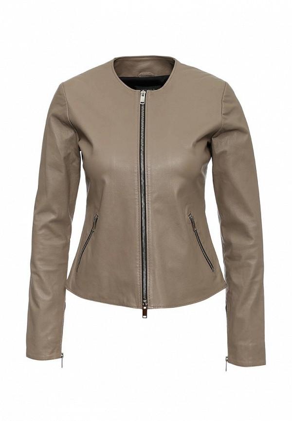 Кожаная куртка Steven-K LC_563_D.TAUPE(SP-29)
