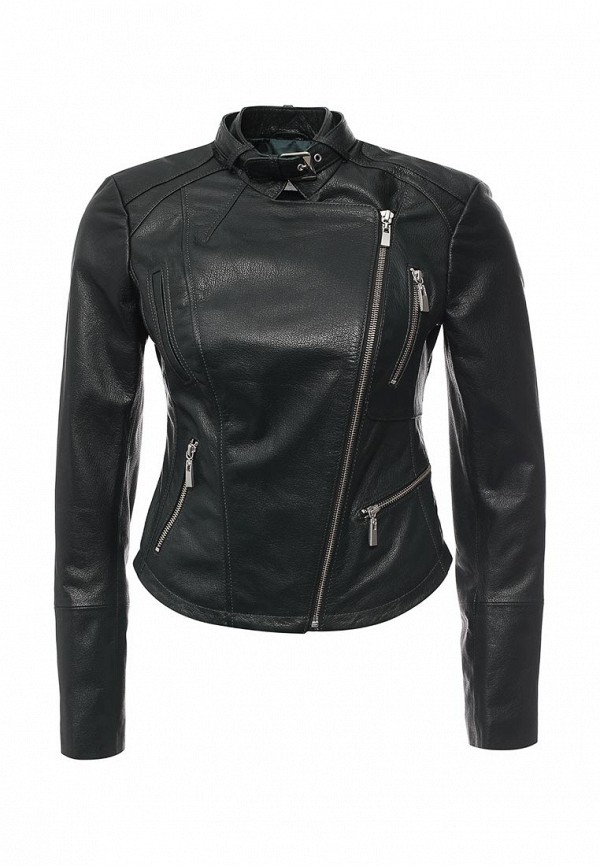 Кожаная куртка Steven-K LC_621_GREEN(DP-340)