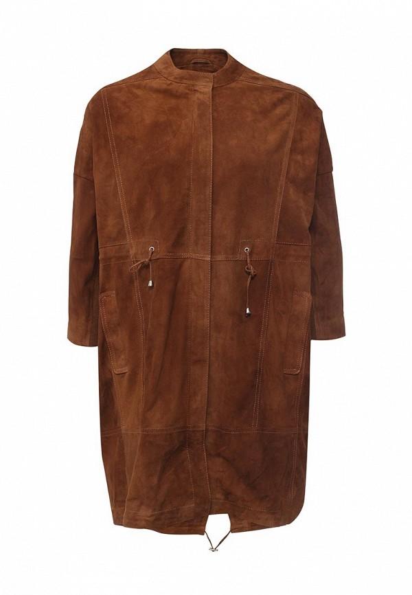 Кожаная куртка Steven-K LK_268_CASHMERE(DS-51)