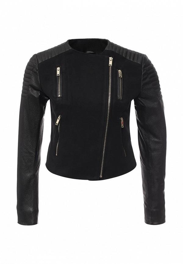 Кожаная куртка Steven-K TLC_495_B_BLACK(DP-367)
