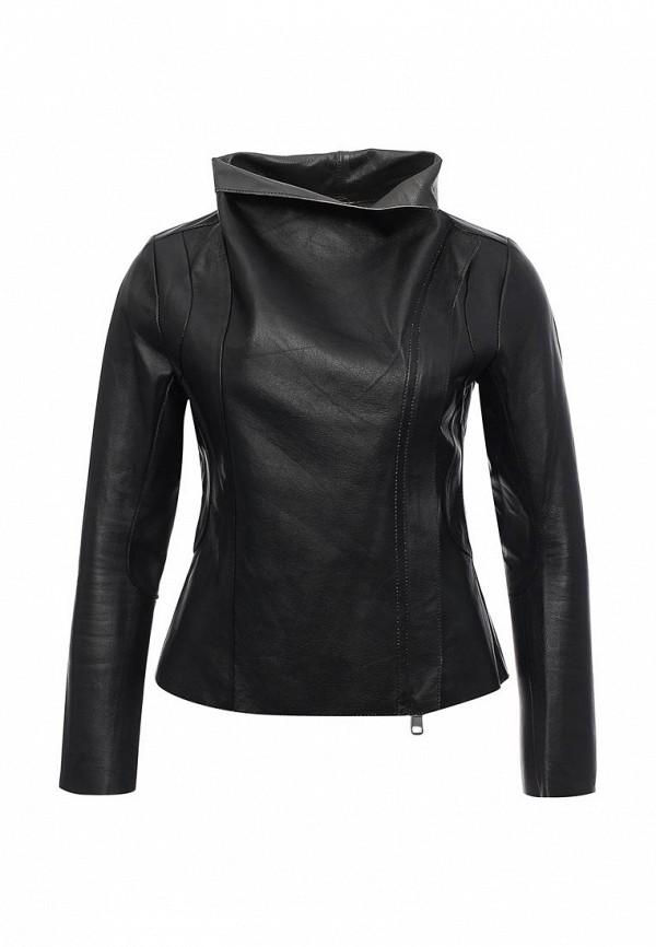 Кожаная куртка Steven-K LC-708_DF-389_BLACK/BEIGE