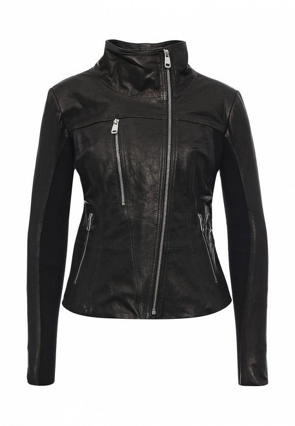 Кожаная куртка Steven-K LC_301_BLACK(DP_221)