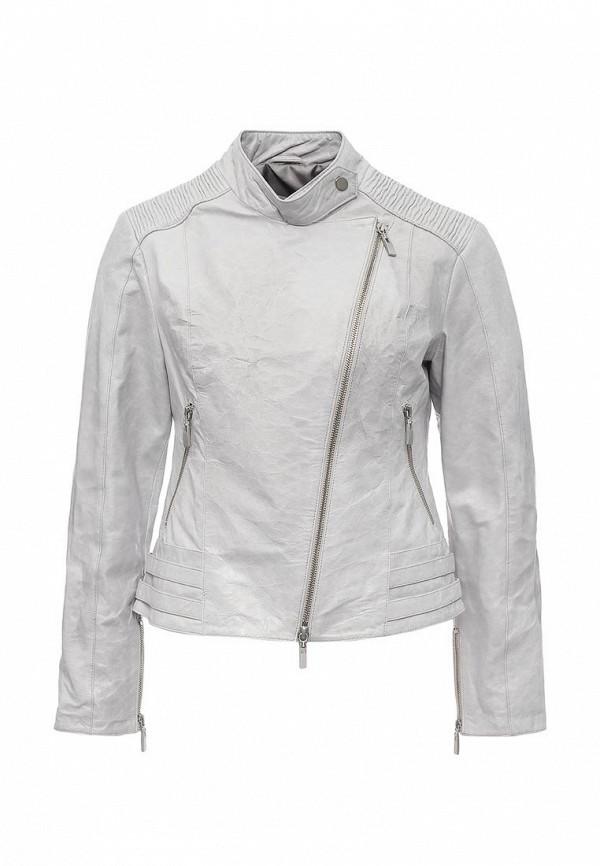 Кожаная куртка Steven-K LC_630_A.GRİ(DP_163)