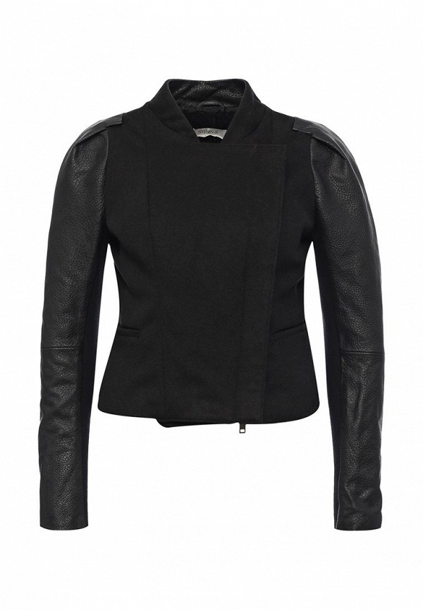 Кожаная куртка Steven-K TLC_331_BLACK(DP_711)