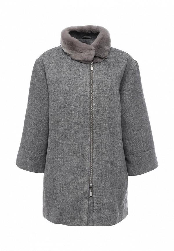 Женские пальто Steven-K TLK_315_GREY/BEIGE(TEXTIE)
