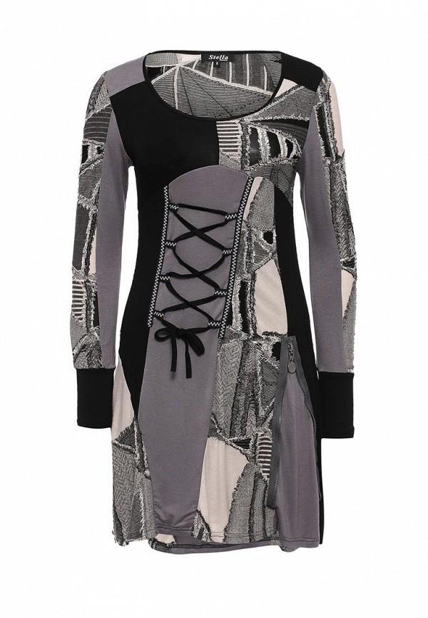Вязаное платье Stella Morgan D121771