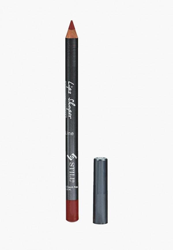 Купить Карандаш для губ Still, LIPS SHAPER , №308, Румяный шиповник, ST048LWWGI41, красный, Весна-лето 2018