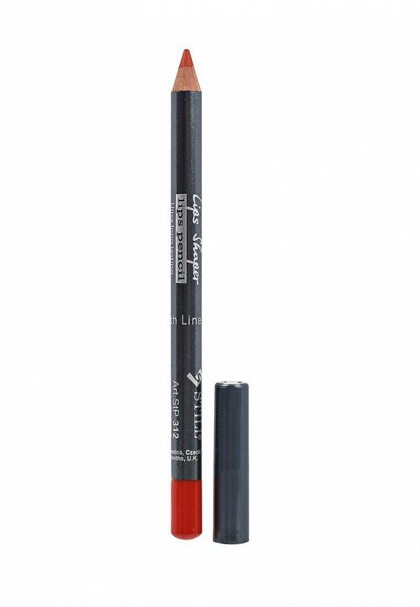 Купить Карандаш для губ Still, LIPS SHAPER , №312, Альпийский шафран, ST048LWWGI44, красный, Весна-лето 2018