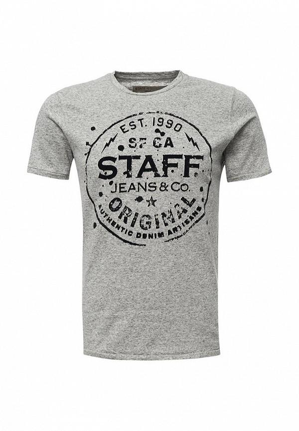 Футболка Staff Jeans & Co. Staff Jeans & Co. ST051EMYFS31 laser staff