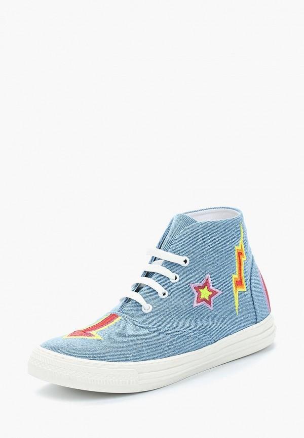 Купить Кеды Stella McCartney Kids, ST052AGAVPO6, голубой, Весна-лето 2018