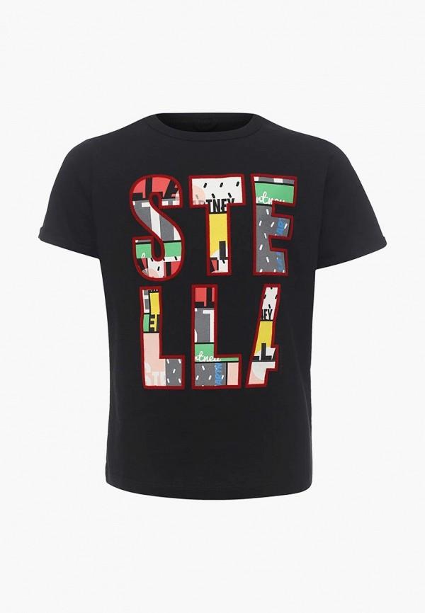 Футболка Stella McCartney Kids, ST052EGAVPS8, черный, Весна-лето 2018  - купить со скидкой