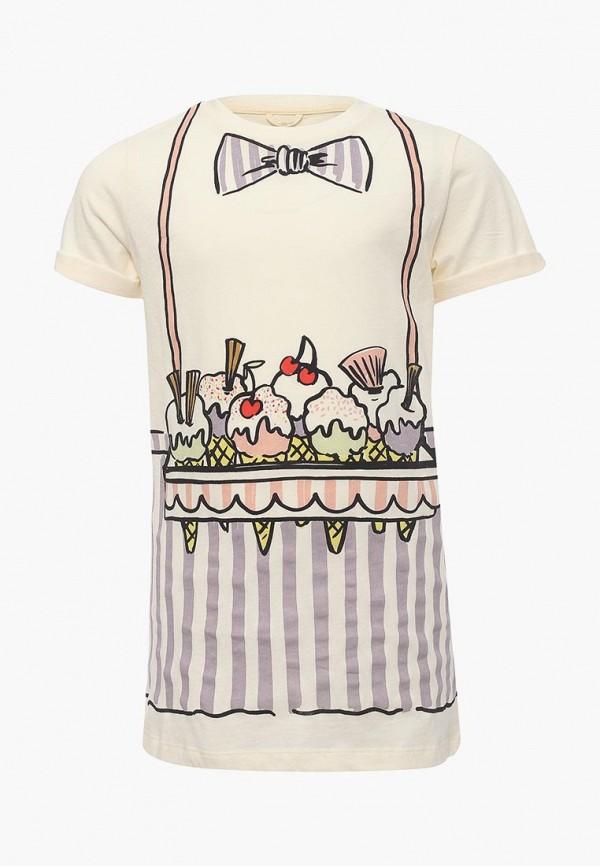 Купить Платье Stella McCartney Kids, ST052EGAVPU5, бежевый, Весна-лето 2018