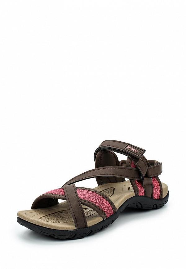 Купить Сандалии Strobbs, ST979AWAMLH0, коричневый, Весна-лето 2018
