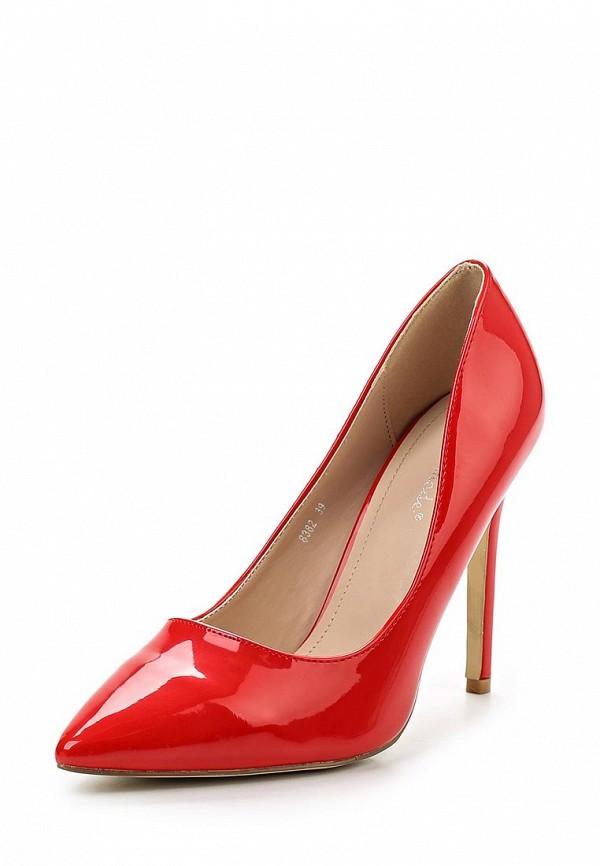 Фото - женские туфли Super Mode красного цвета