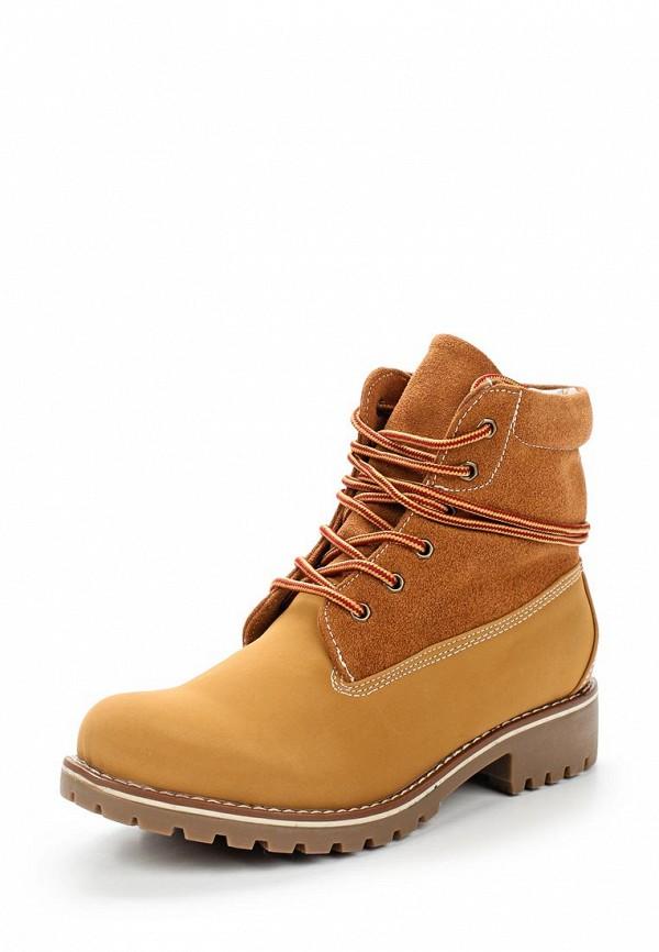 Ботинки Super Mode. Цвет: коричневый