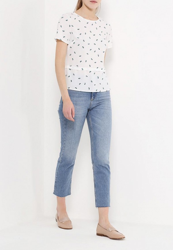 Фото 2 - женскую блузку Sugarhill Boutique белого цвета