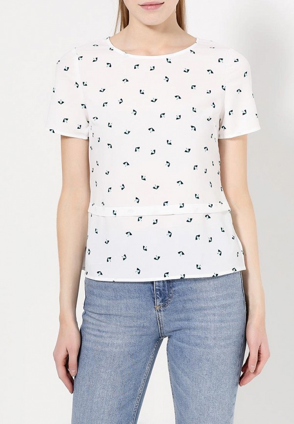 Фото 3 - женскую блузку Sugarhill Boutique белого цвета