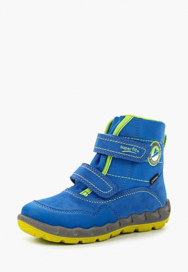 Фото - Ботинки Superfit синего цвета