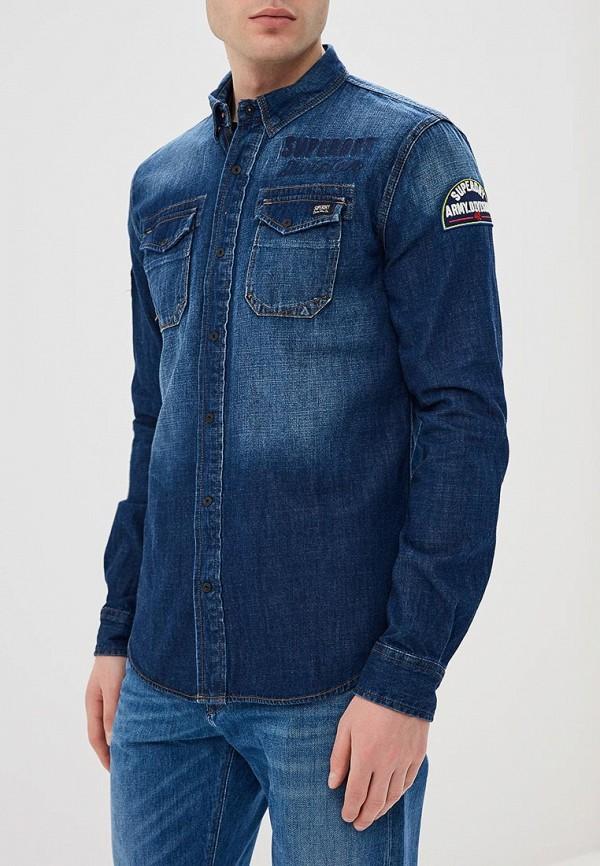 Рубашка джинсовая Superdry Superdry SU789EMAAAW6 at p co рубашка джинсовая атипико franciacpb33 0915 синий 42