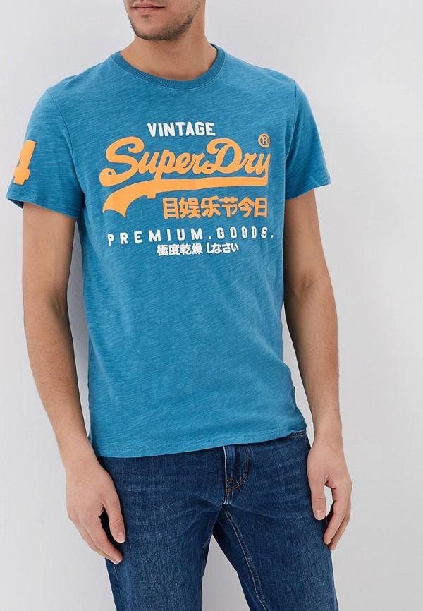 Футболка Superdry Superdry SU789EMKBZZ4 рубашка superdry superdry su789emvcc60