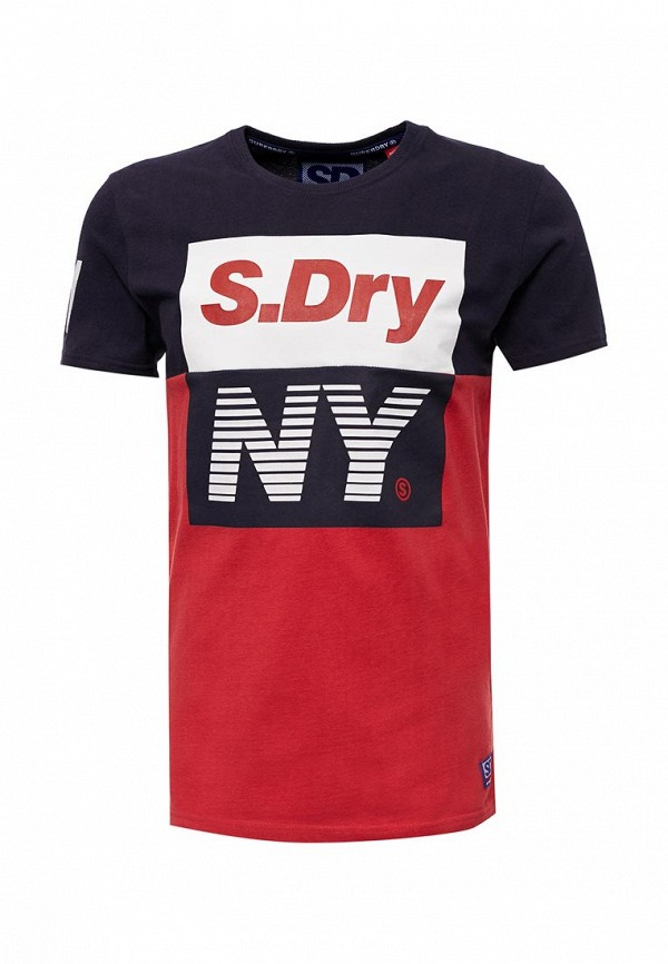 Футболка Superdry Superdry SU789EMVCA13 футболка superdry m10001oo zqi