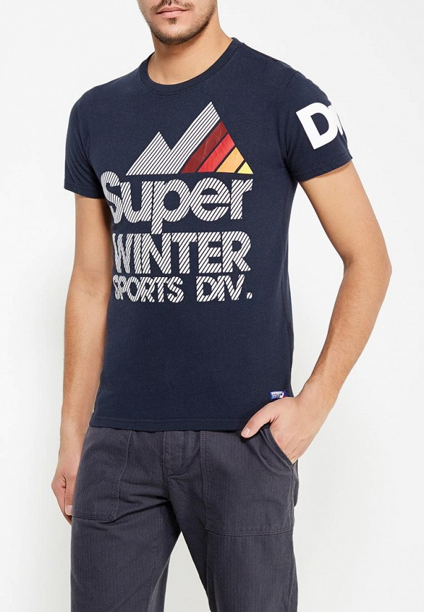 Футболка Superdry Superdry SU789EMVCA14 рубашка superdry superdry su789emvcc60