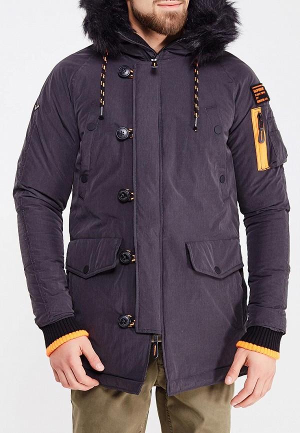 Куртка утепленная Superdry Superdry SU789EMVCC69 рубашка superdry superdry su789emvcc60