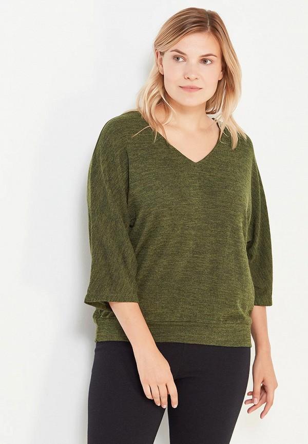 Фото - женский пуловер Svesta зеленого цвета