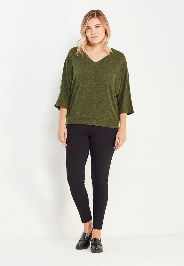 Фото 2 - женский пуловер Svesta зеленого цвета