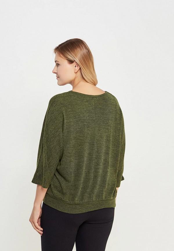 Фото 3 - женский пуловер Svesta зеленого цвета