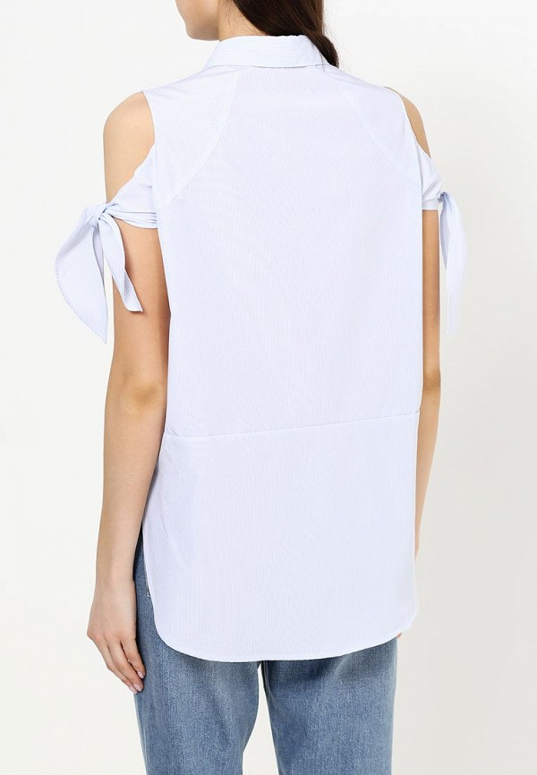 Фото 4 - женскую блузку Sweewe голубого цвета