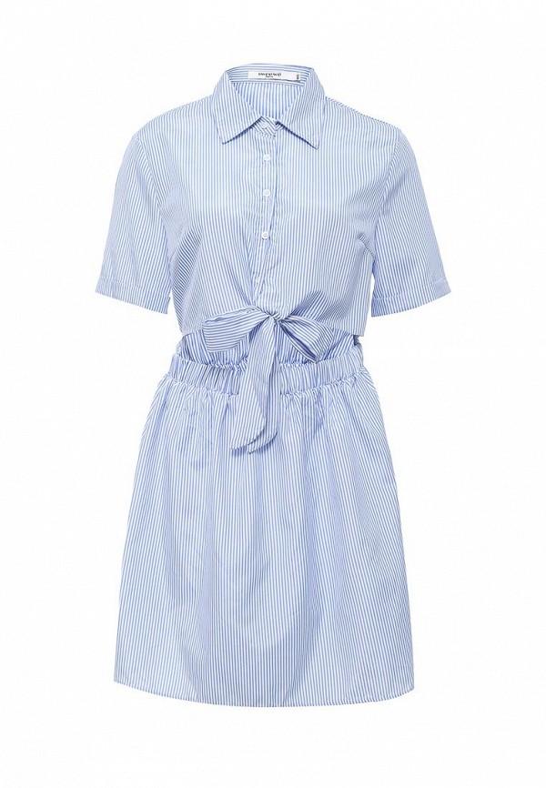 Платье Sweewe Sweewe SW007EWRQM72 платье sweewe sweewe sw007ewxaw80