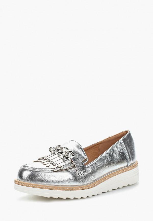 Купить Лоферы Sweet Shoes, SW010AWAZPW8, серебряный, Весна-лето 2018