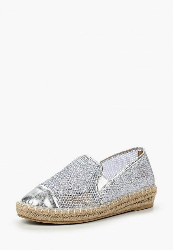 Купить Эспадрильи Sweet Shoes, SW010AWIYR60, серебряный, Весна-лето 2016