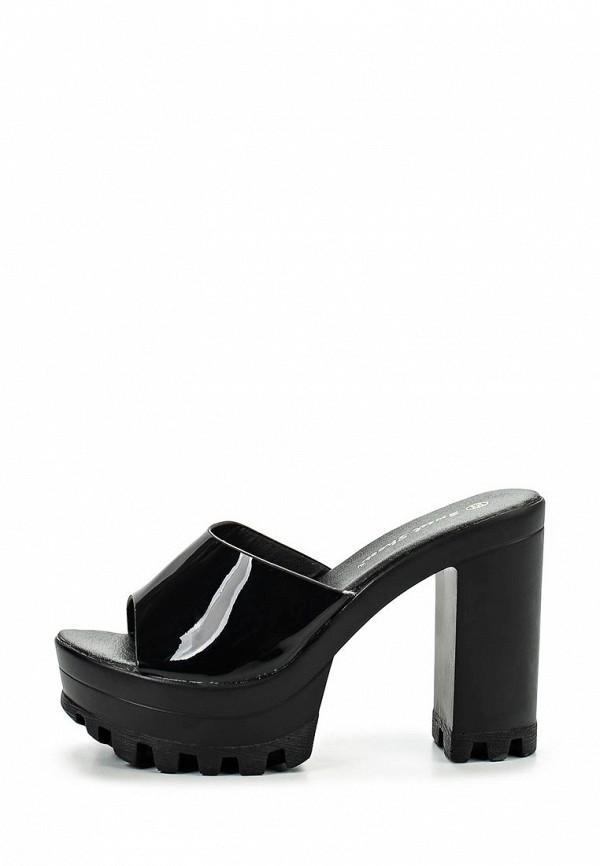 Фото 2 - Сабо Sweet Shoes черного цвета